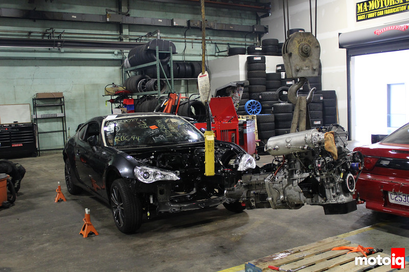 Engine Fitting FRS