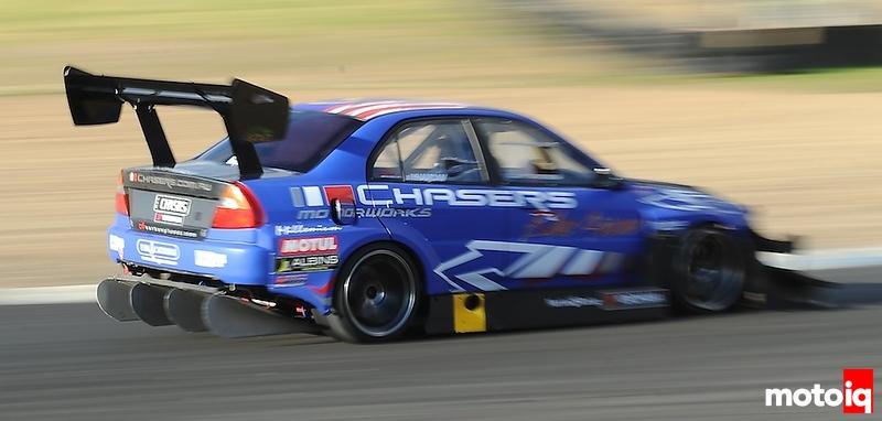 Chaser Motorworks Evo 6, WTAC