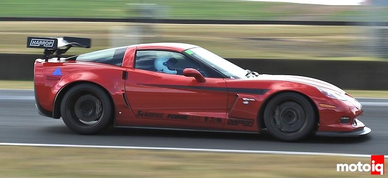 Harrop Corvette Z06, WTAC