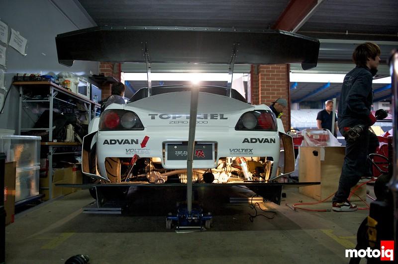Team Top Fuel Voltex S2000, WTAC