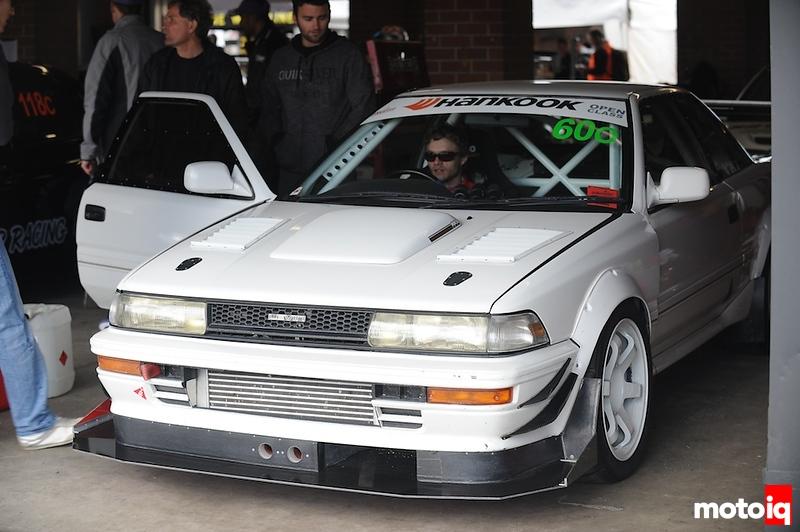 Toyota Levin, WTAC