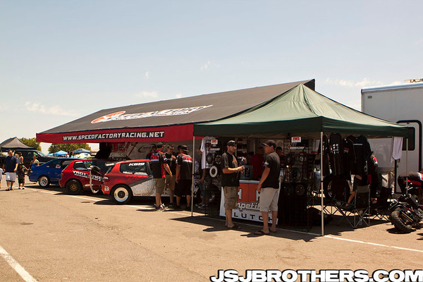 4th Annual West Coast Nationals Pit Area