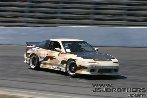 Drift Battle Amateur Comp Round 1 4-15-07  Altamont Raceway, CA