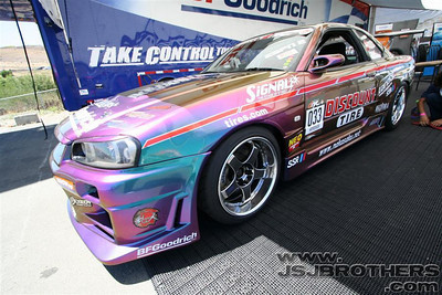 Formula Drift Practice Day 8-10-07  Infineon Raceway, CA