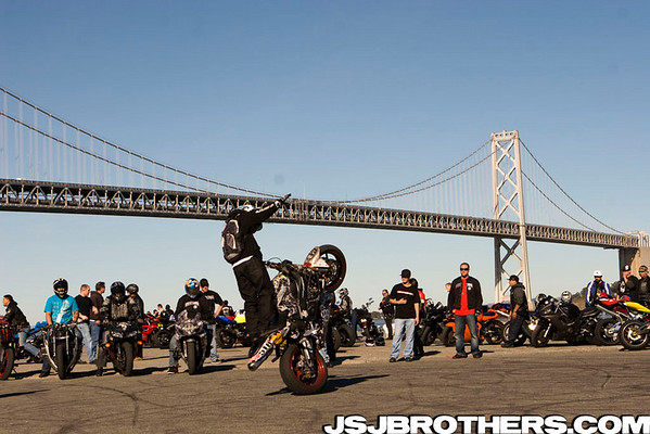2nd Annual Westcoast Connection Street Ride Stunts