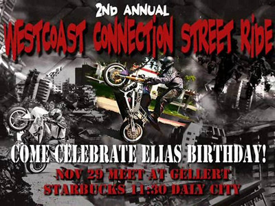 2nd Annual Westcoast Connection Street Ride Video