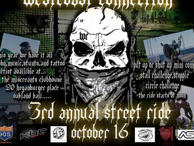 3rd Annual Westcoast Connection Street Ride Video
