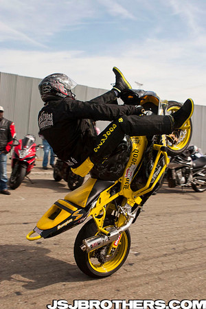 3rd Annual Westcoast Connection Street Ride Stunts