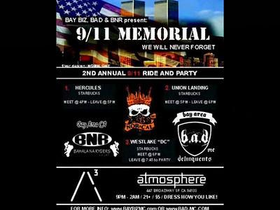9-11 Ride Hosted By Bay Biz,B.A.D.,B.N.R. MC Video
