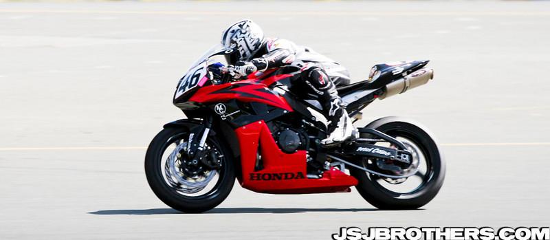 AMA Test Day Racing
