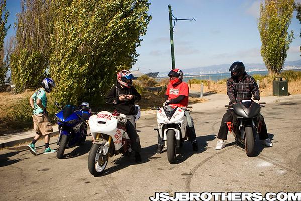 San Francisco Street Ride Stunt Spot