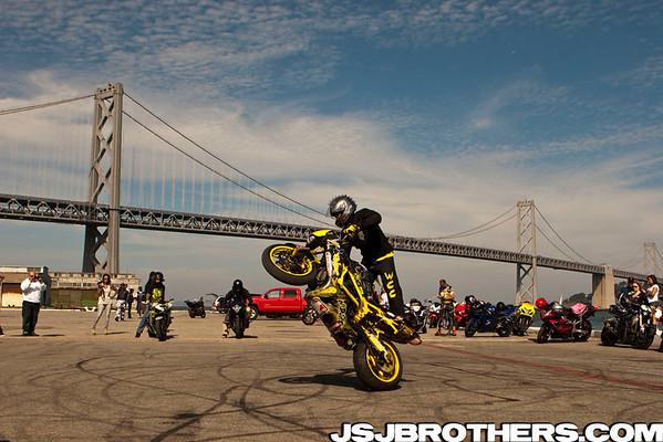 Westcoast Connection Annual Street Ride Stunts