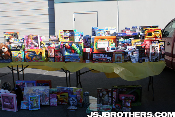"4th Annual ""For the Kids"" Toy Drive Toys"