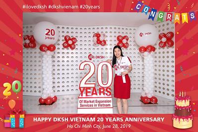 Dịch vụ in ảnh lấy liền & cho thuê photobooth tại sự kiện kỷ niệm 20 năm công ty DKSH   Instant Print Photobooth Vietnam at DKSH 20th Anniversary
