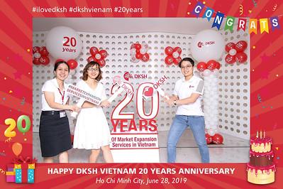Dịch vụ in ảnh lấy liền & cho thuê photobooth tại sự kiện kỷ niệm 20 năm công ty DKSH | Instant Print Photobooth Vietnam at DKSH 20th Anniversary