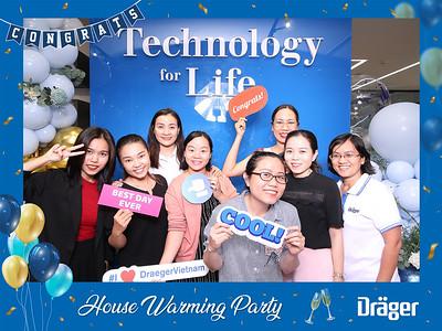 Dịch vụ in ảnh lấy liền & cho thuê photobooth tại Tiệc khai trương công ty Drager | Instant Print Photobooth Vietnam at Drager's House Warming Party