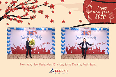 Dịch vụ in ảnh lấy liền & cho thuê photobooth tại sự kiện tiệc cuối năm công ty Đức Anh | Instant Print Photobooth Vietnam at Duc Anh Year End Party