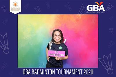 Dịch vụ in ảnh lấy liền & cho thuê photobooth tại sự kiện Giải thi đấu cầu lông GBA | Instant Print Photobooth Vietnam at GBA Badminton Tournament