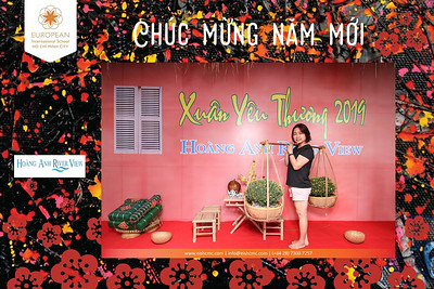 Dịch vụ in ảnh lấy liền & cho thuê photobooth tại sự kiện Tết ở chung cư Hoàng Anh River View | Instant Print Photobooth Vietnam at EIS Hoang Anh River View Tet Celebration