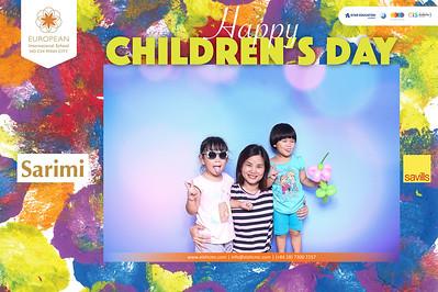 Dịch vụ in ảnh lấy liền & cho thuê photobooth tại sự kiện tiệc quốc tết thiếu nhi của trường EIS tại Sarimi   Instant Print Photobooth Vietnam at EIS Sarimi Children's Day