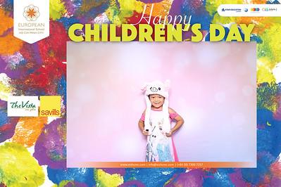 Dịch vụ in ảnh lấy liền & cho thuê photobooth tại sự kiện tiệc quốc tế thiếu nhi của trường EIS tại The Vista | Instant Print Photobooth Vietnam at The Vista Children's Day