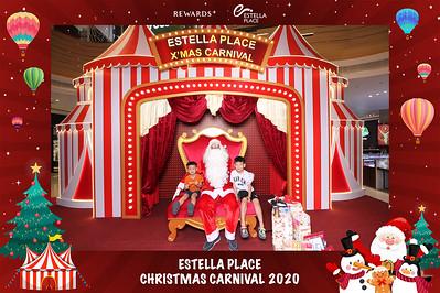 Dịch vụ in ảnh lấy liền & cho thuê photobooth tại sự kiện lễ hội giáng sinh của Estella Place | Instant Print Photobooth Vietnam at Estella Place Xmas Carnival