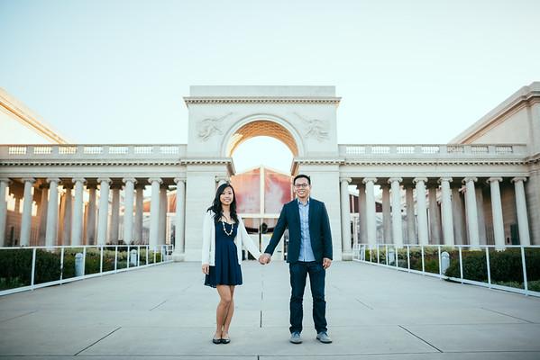 Palace of Fine Arts Engagement Photography
