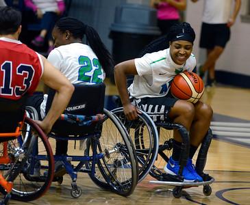 Wheelchair Basketball game 2016
