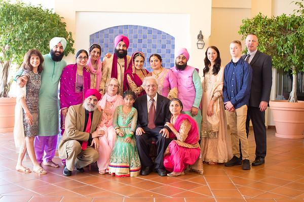 Ravleen & Ekjot Family Images