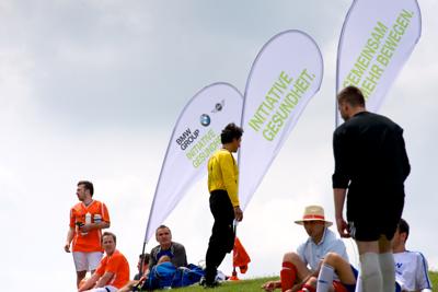 BMW, Initiative Gesundheit, FussballCup   Finale 2013, Sommerfest