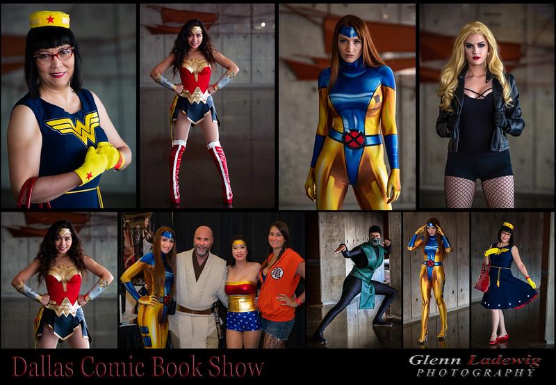 Dallas Comic Collage I