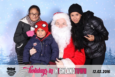 Holidays In Highlandtown - Santa Photos