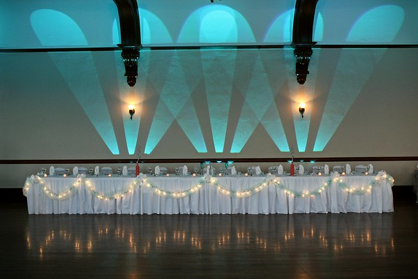 Wall Art Head Table Cyan