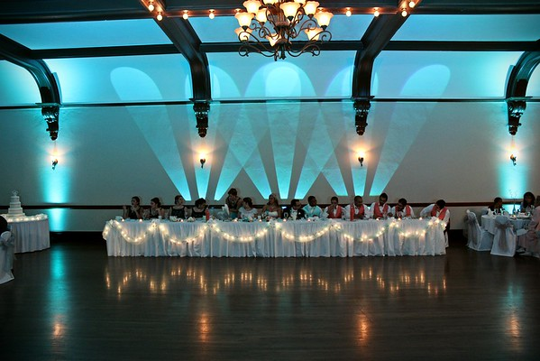 Populated Head Table