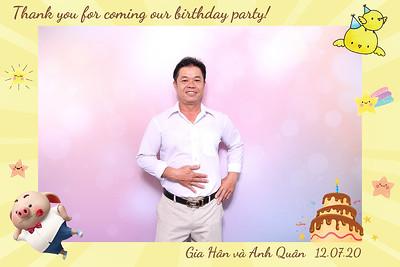 Dịch vụ in ảnh lấy liền & cho thuê photobooth tại sự kiện tiệc sinh nhật của bé Gia Hân & Anh Quân   Instant Print Photobooth Vietnam at Gia Han & Anh Quan's Birthday Party