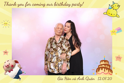 Dịch vụ in ảnh lấy liền & cho thuê photobooth tại sự kiện tiệc sinh nhật của bé Gia Hân & Anh Quân | Instant Print Photobooth Vietnam at Gia Han & Anh Quan's Birthday Party