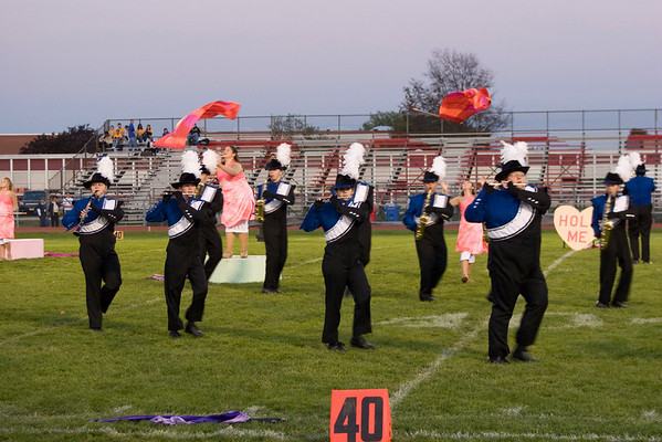 HHS Band at Lenape