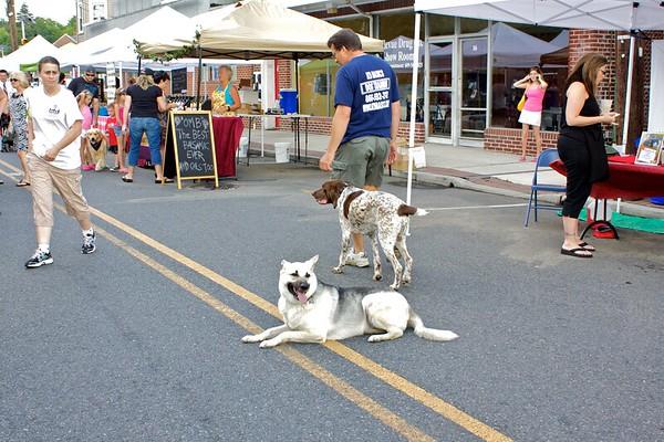 Hammonton Farmer's Market Dog Days 2011