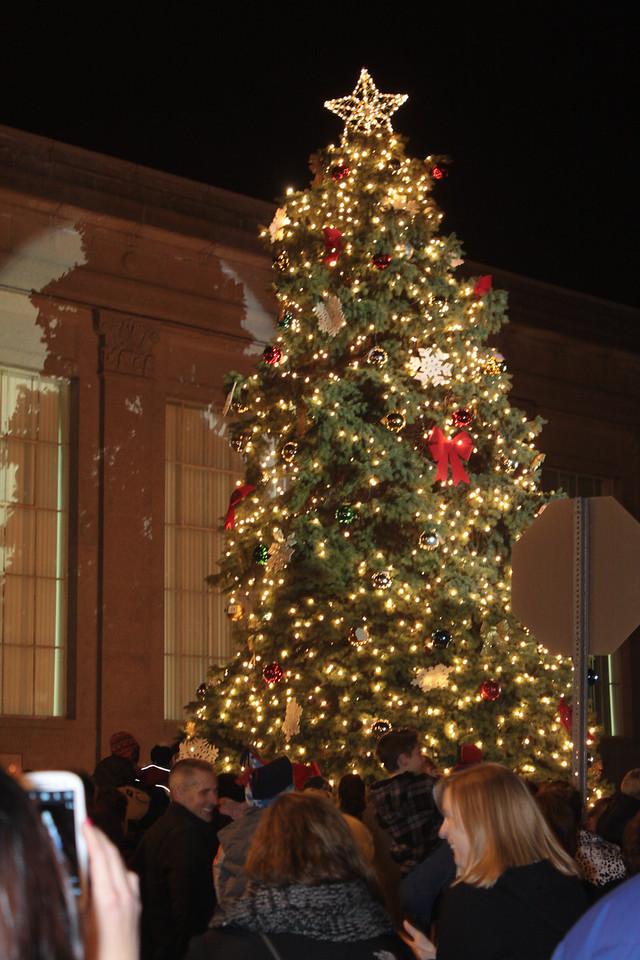 Tree Lighting Hammonton 12-1-2012