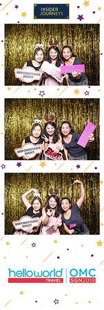 Dịch vụ in ảnh lấy liền & cho thuê photobooth tại sự kiện hội nghị Hello World OMC Insider Journey | Instant Print Photobooth Vietnam at Hello World OMC Insider Journey