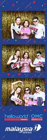 Dịch vụ in ảnh lấy liền & cho thuê photobooth tại sự kiện hội nghị Hello World OMC - Malaysian Airline | Instant Print Photobooth Vietnam at Hello World OMC Malaysian Airline