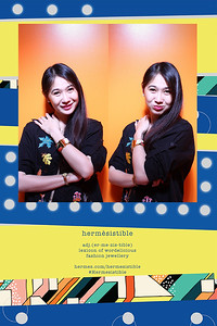 Chụp ảnh lấy liền và in hình lấy liền từ photobooth tại cửa hàng Hermesistible của Hermes | Instant Print Photobooth at Pop-up Store Hermesistible by Hermes | PRINTAPHY - PHOTO BOOTH VIETNAM