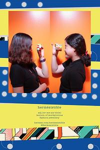 Chụp ảnh lấy liền và in hình lấy liền từ photobooth tại cửa hàng Hermesistible của Hermes | Instant Print Photobooth at Pop-up Store Hermesistible by Hermes | PRINTAPHY - PHOTO BOOTH VIETNAM