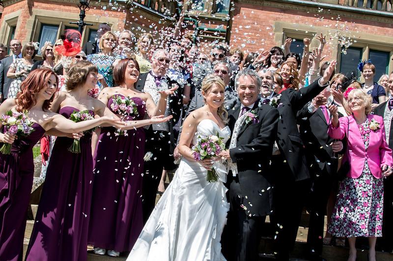 Mark and Lisa Jenkins Wedding Day Photographs Wroxall Abbey 2013