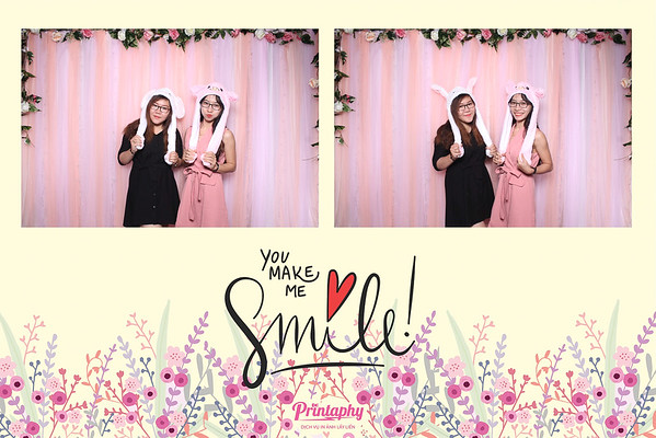 Chụp ảnh lấy liền và in hình lấy liền từ photobooth/photo booth tại sự kiện Honeymoon & Wedding Perfect 2018 | Instant Print Photobooth/Photo Booth at Honeymoon & Wedding Perfect 2018 | PRINTAPHY - PHOTO BOOTH VIETNAM