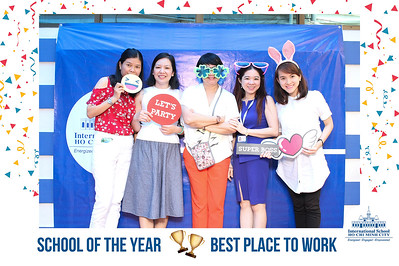 Chụp ảnh lấy liền và in hình lấy liền từ photobooth/photo booth tại ngày tri ân nhân viên của trường ISHCMC | Instant Print Photobooth/Photo Booth at ISHCMC Appreciation Day | PRINTAPHY - PHOTO BOOTH VIETNAM