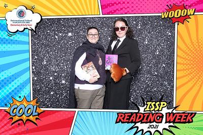 Dịch vụ in ảnh lấy liền & cho thuê photobooth tại sự kiện Reading Week của trường ISSP   Instant Print Photobooth Vietnam at ISSP Reading Week