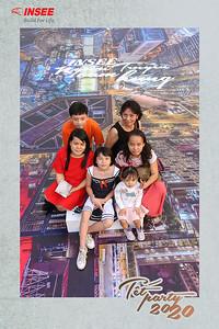 Dịch vụ in ảnh lấy liền & cho thuê photobooth tại sự kiện tiệc cuối năm công ty Insee | Instant Print Photobooth Vietnam at Insee Tet Party