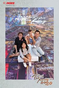 Dịch vụ in ảnh lấy liền & cho thuê photobooth tại sự kiện tiệc cuối năm công ty Insee   Instant Print Photobooth Vietnam at Insee Tet Party
