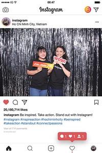 Chụp ảnh lấy liền và in hình lấy liền từ photobooth/photo booth tại sự kiện Instagram  | Instant Print Photobooth/Photo Booth at Instagram Pop-up Booth| PRINTAPHY - PHOTO BOOTH VIETNAM